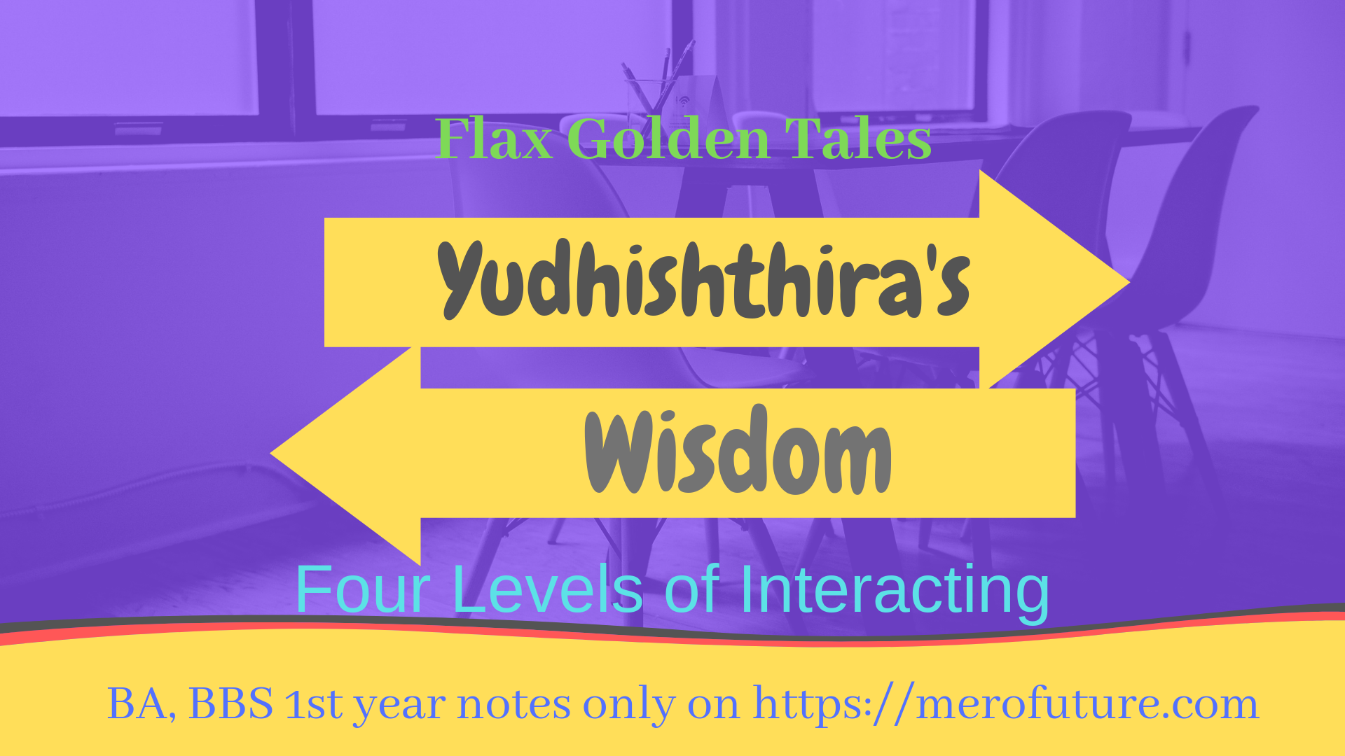 Most Probable Questions for Examination | Yudhisthira's Wisdom | BA, BBS 1st Year
