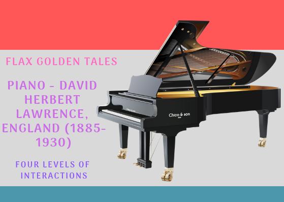 Piano -David Herbert Lawrence, England (1885-1930)