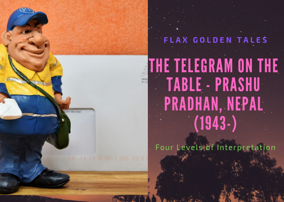 The Telegram on The Table – Four Levels of Interpretation | Flax Golden Tales