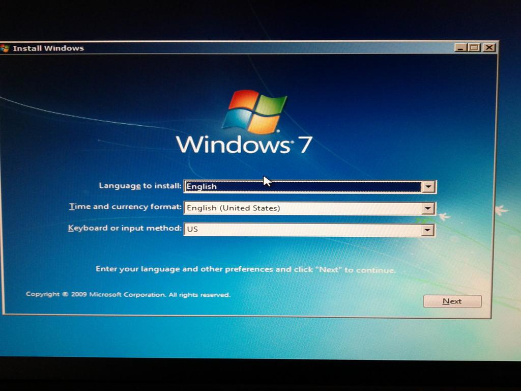 How to install Windows 7 – Computer | Merofuture