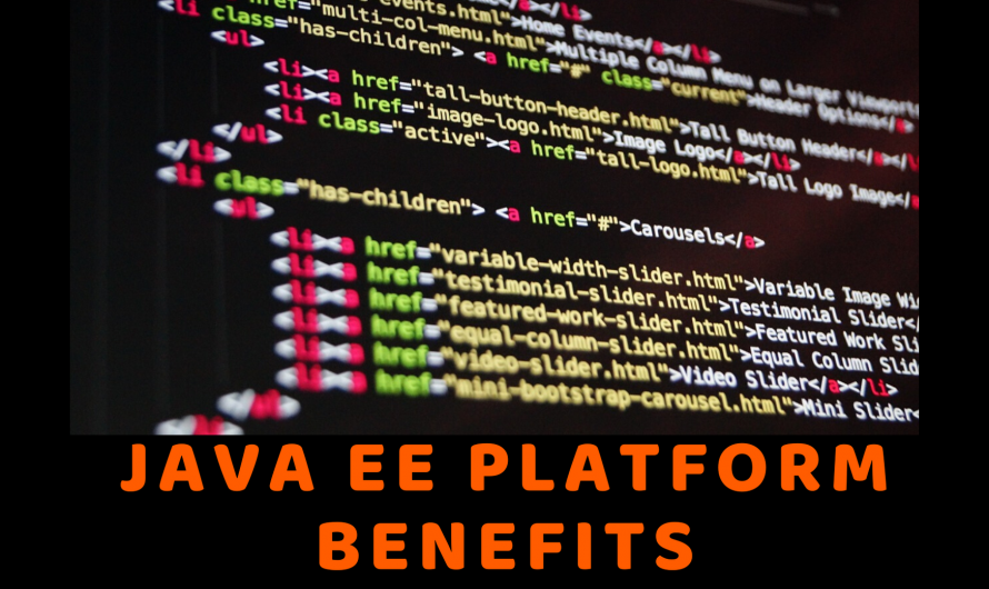 Java EE Platform Benefits