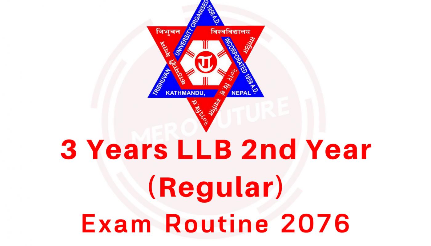 3 Years LLB 2nd Year (Regular)