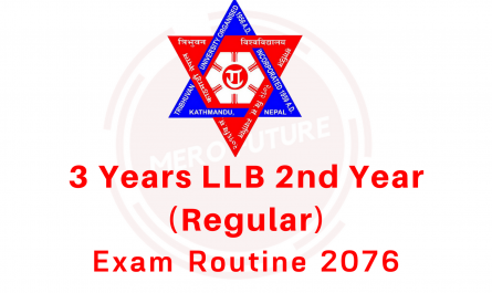 3 Years LLB 2nd Year (Regular)